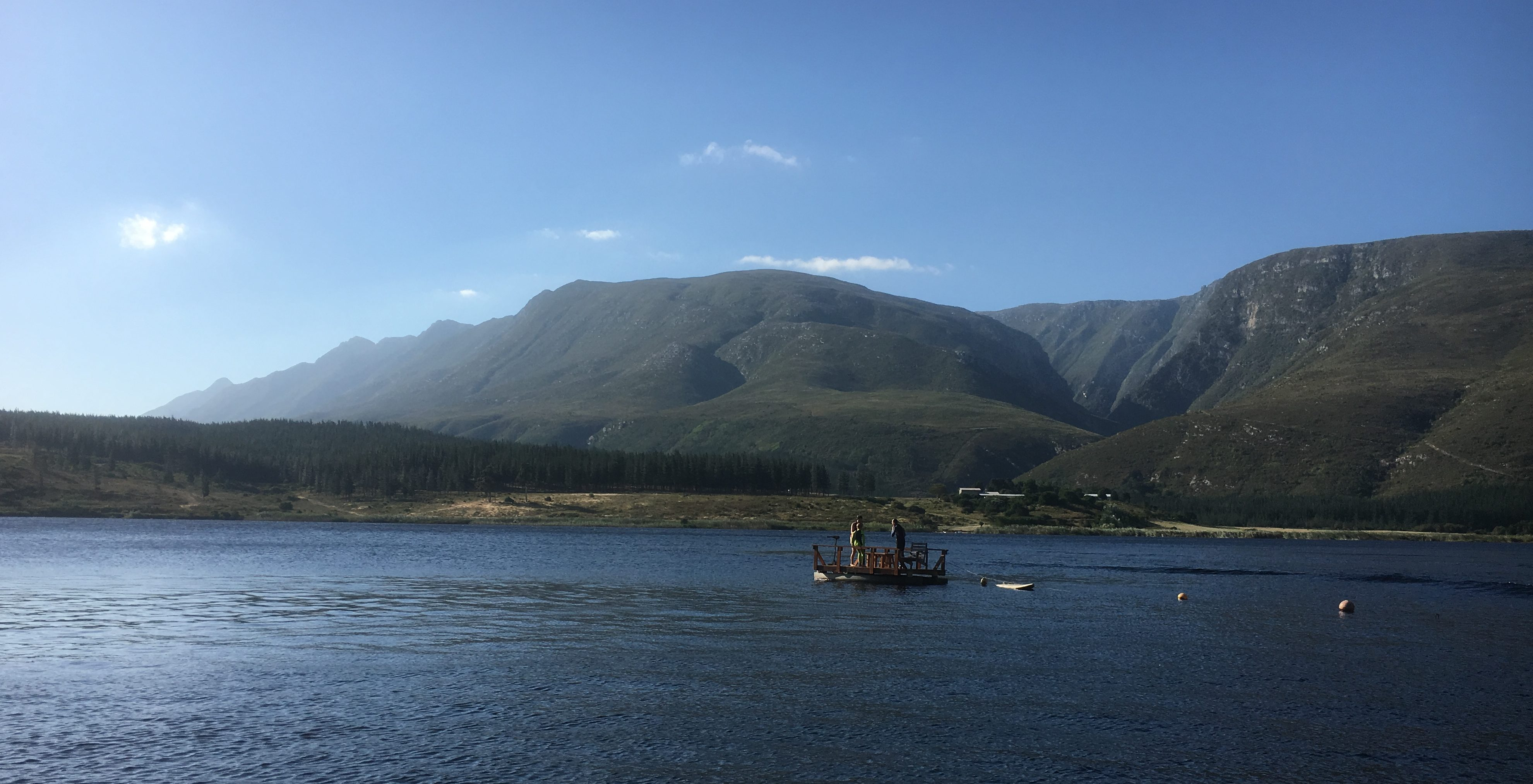 Umshanti Buffeljags - Dam view