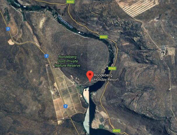 Rondeberg Resort - aerial photo