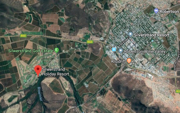 Silwerstrand River Estate - Aerial photo