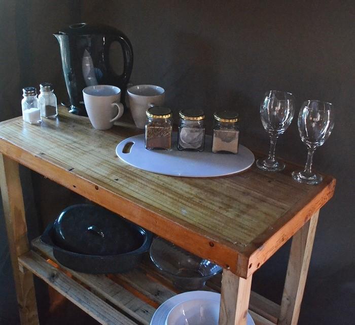 Langdam Guest Farm - Kitchen