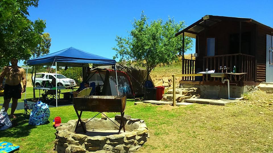 Kleine Paradys - Camp site
