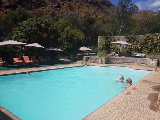 The Baths - Pool view