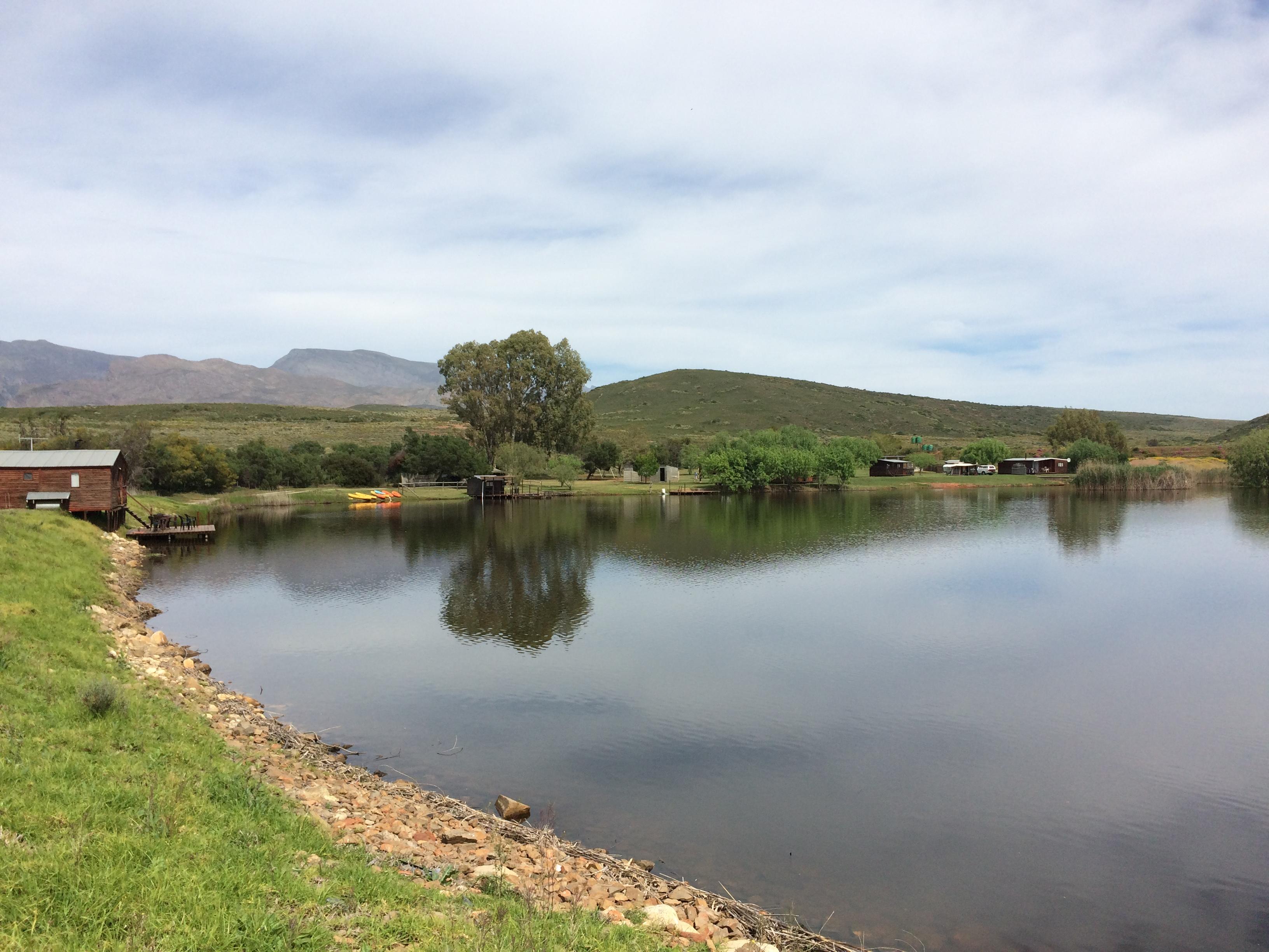 Nigh Sky Caravan Farm - Dam