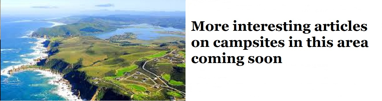 More interesting articles on camp sites in the area coming soon