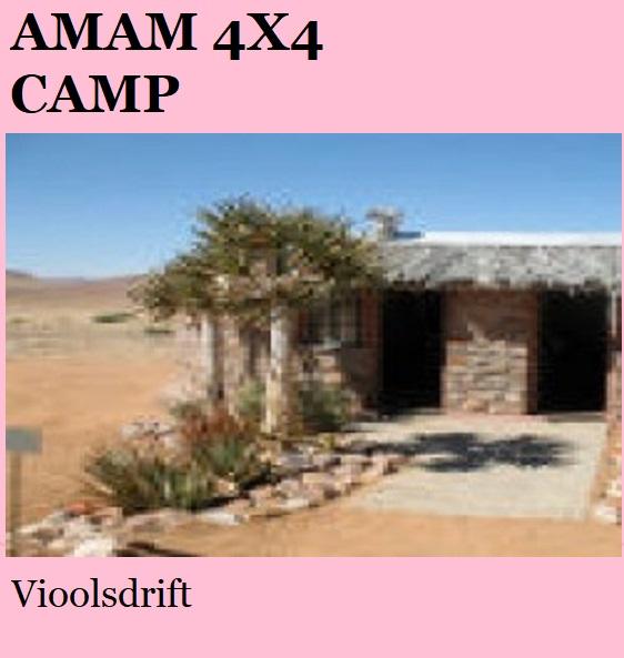 Amam 4x4 Camp - Vioolsdrift