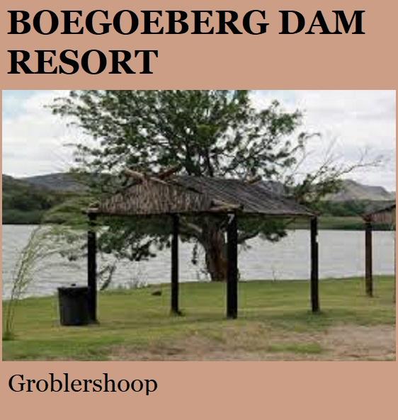 Boegoeberg Dam Resort - Groblershoop