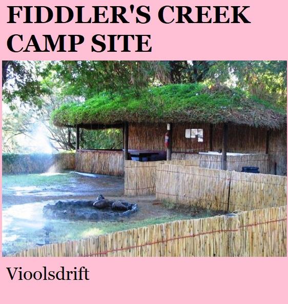 Fiddlers Creek Camp - Vioolsdrift