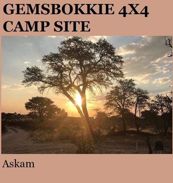 Gemsbokkie 4x4 - Askam