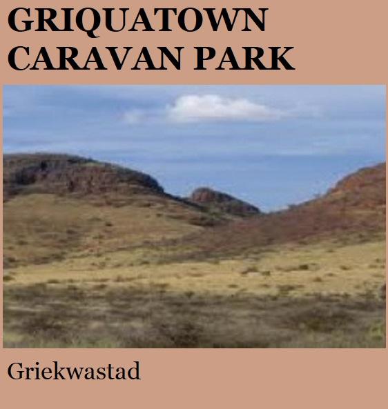 Griquatown Caravan Park - Griekwastad