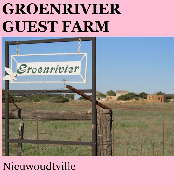 Groenrivier - Nieuwoudtville