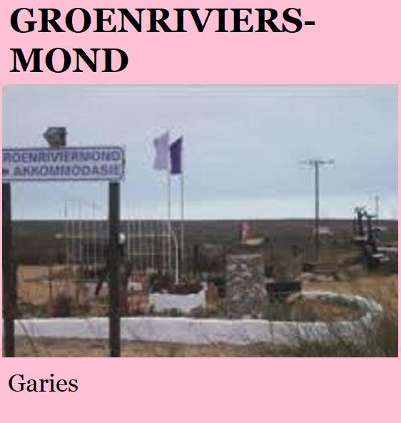 Groenriviersmond - Graries