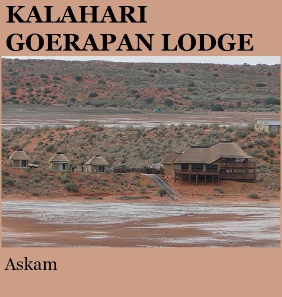 Kalahari Goerapan - Askam