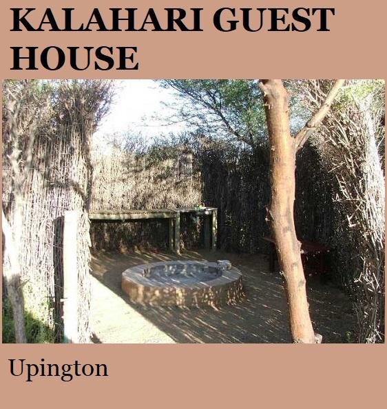 Kalahari Guest House - Upington
