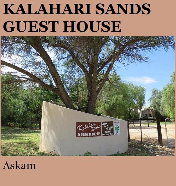 Kalahari Sands Guest House - Askam