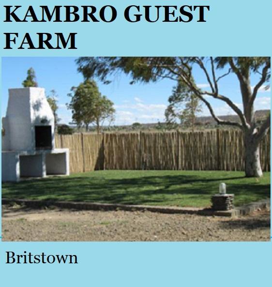 Kambro - Britstown