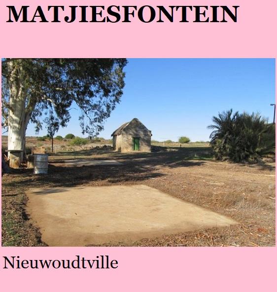 Matjiesfontein - Nieuwoudtville