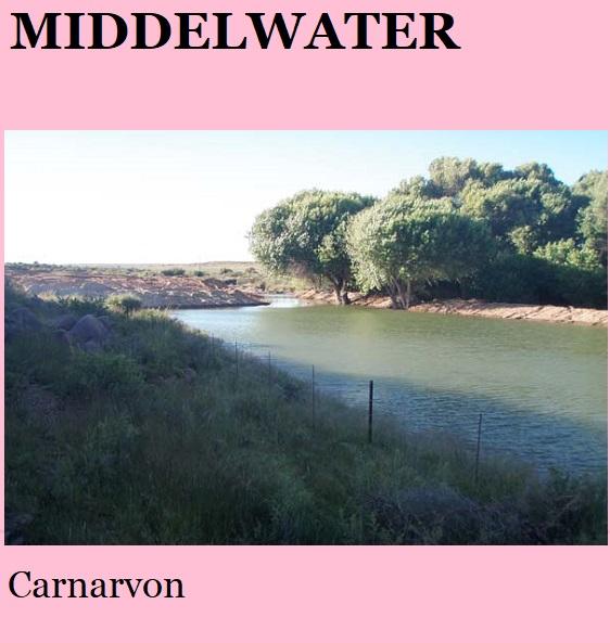 Middelwater - Carnarvon