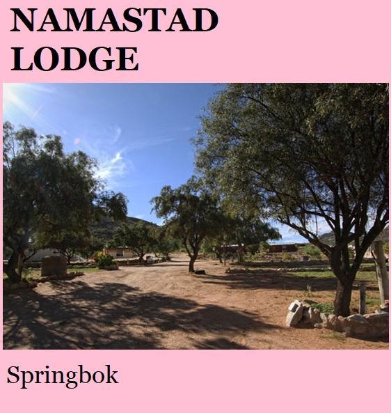 Namastad Lodge - Springbok