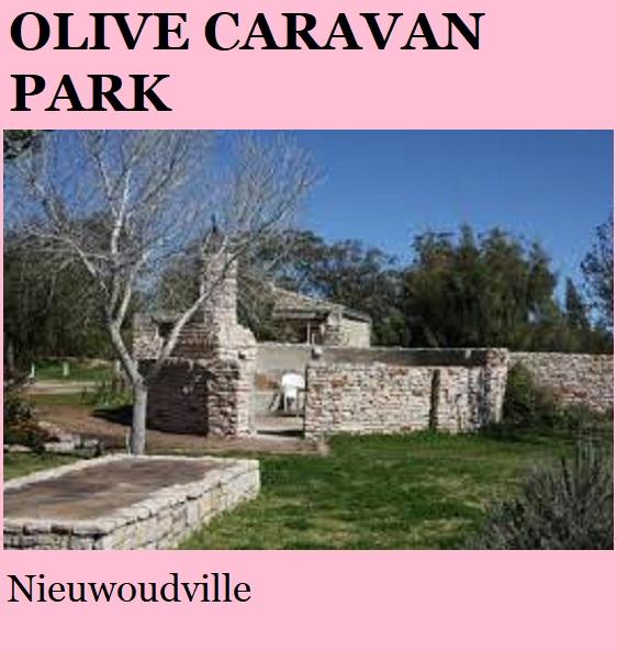 Olive Caravan Park - Nieuwoudtville