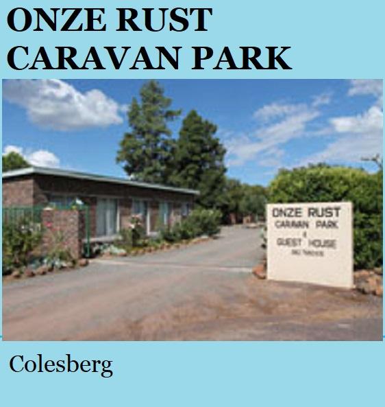 Onze Rust - Colesberg