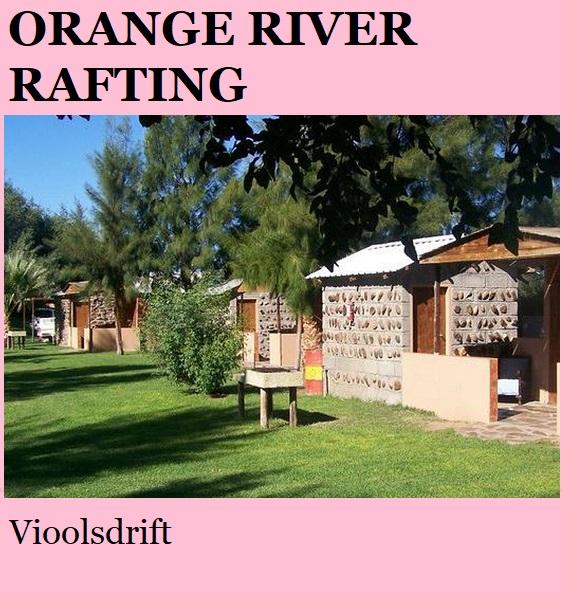 Orange River Rafting - Vioolsdrift