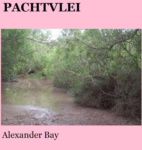 Pachtvlei - Alexander Bay - Namakwa