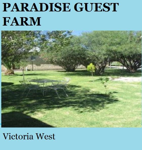 Paradise Guest Farm - Victoria West