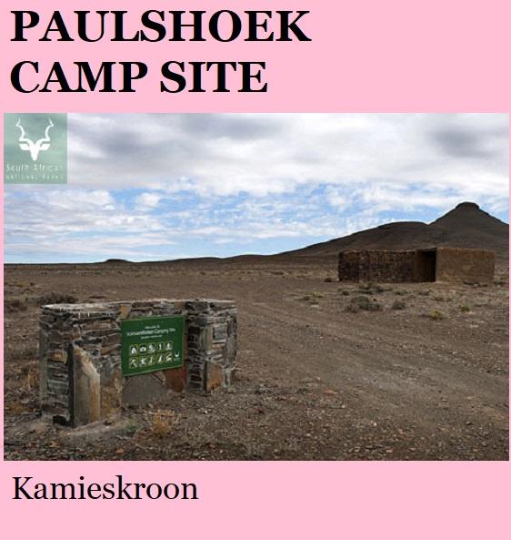 Paulshoek Camp Site - Kamieskroon
