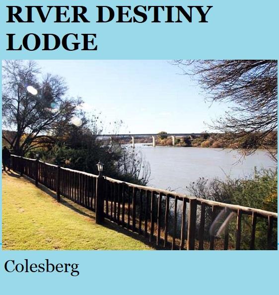 River Destiny Lodge - Colesberg
