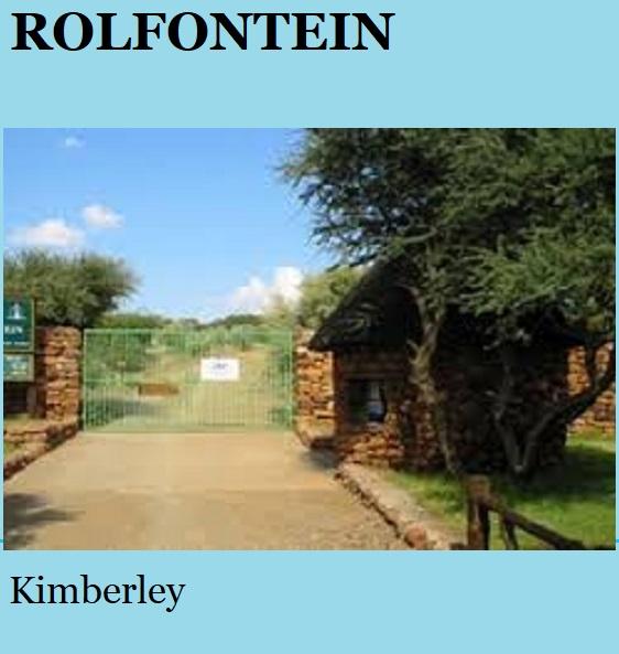 Rolfontein - Kimberley