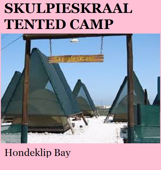 Skulpieskraal Tented Camp - Hondeklip Bay