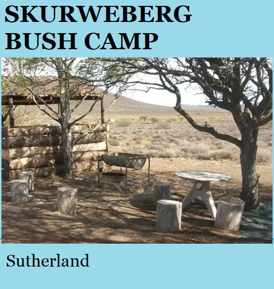 Skurweberg Bush Camp - Sutherland