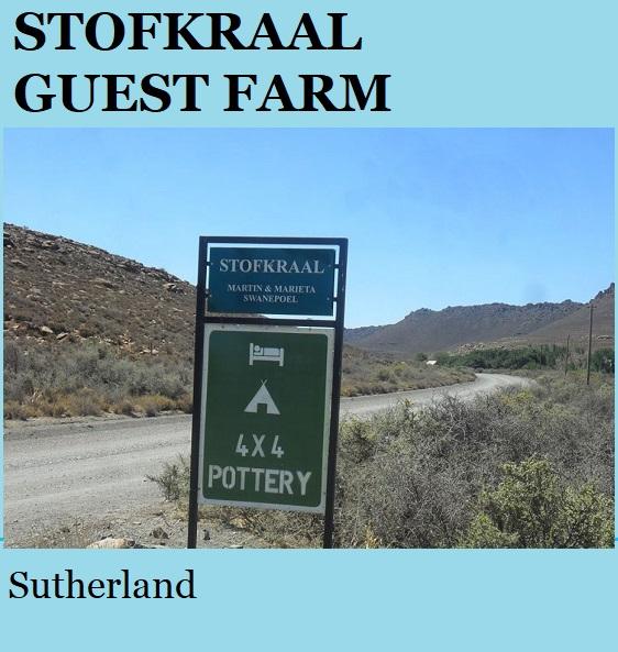 Stofkraal Guest Farm - Sutherland