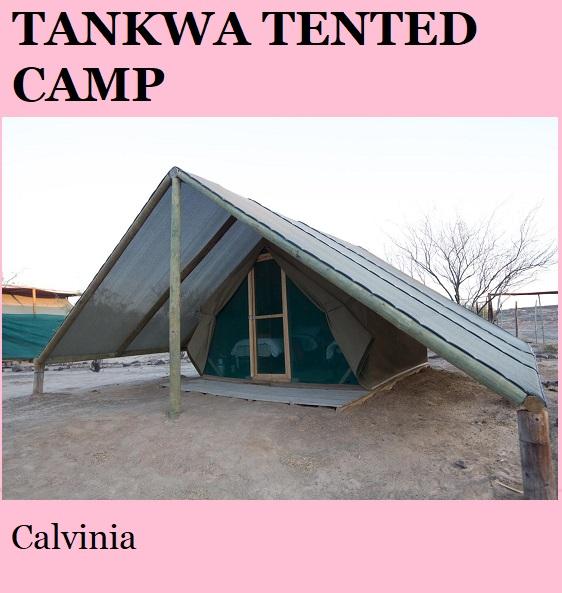Tankwa Tented Camp - Calvinia