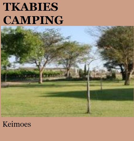 Tkabies Camping - Keimoes