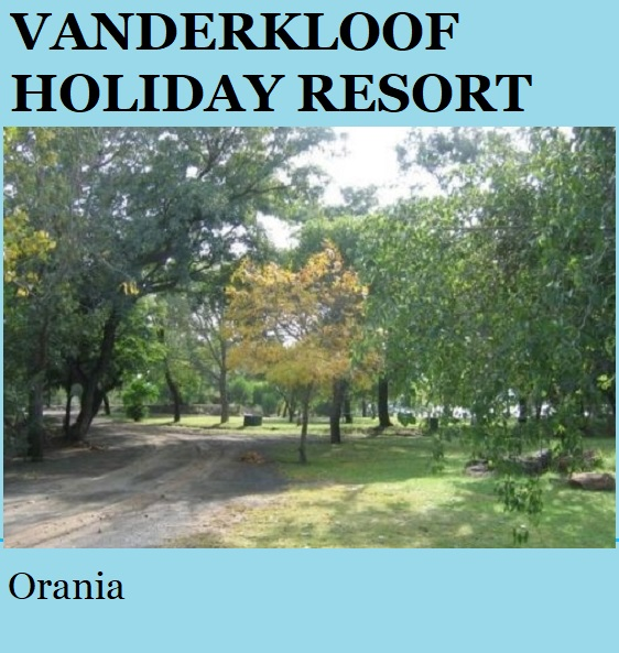 Vanderkloof Holiday Resort - Orania