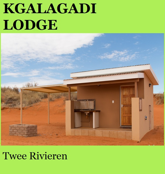 Kgalagadi Lodge - Twee Rivieren