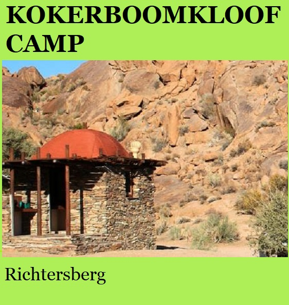 Kokerboomkloof Camp - Richtersberg