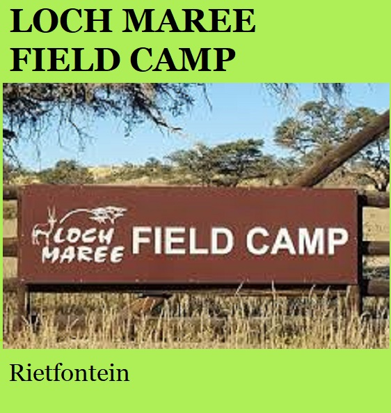 Loch Maree Field Camp - Rietfontein