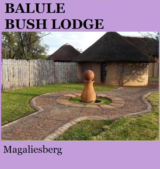 Balule Bush Lodge - Magaliesberg
