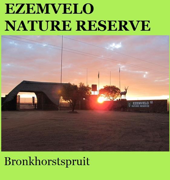 Ezemvelo Nature Reserve - Bronkhorstspruit