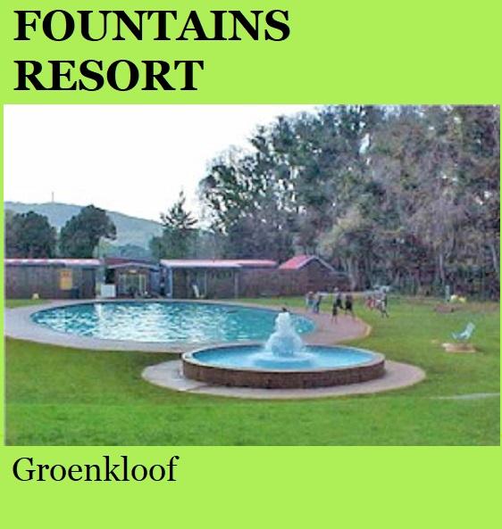 Fountains Resort - Groenkloof