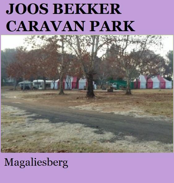Joos Bekker Caravan Park - Magaliesberg
