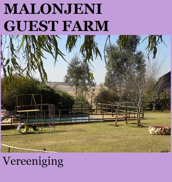 Malonjeni Guest Farm - Vereeniging