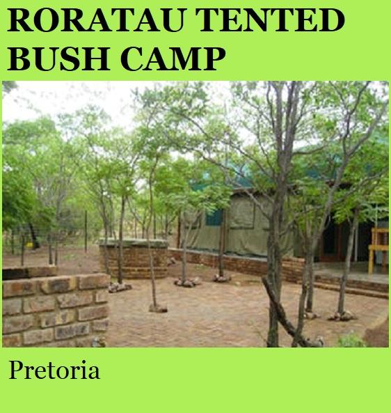 Roratau Tented Bush Camp - Pretoria
