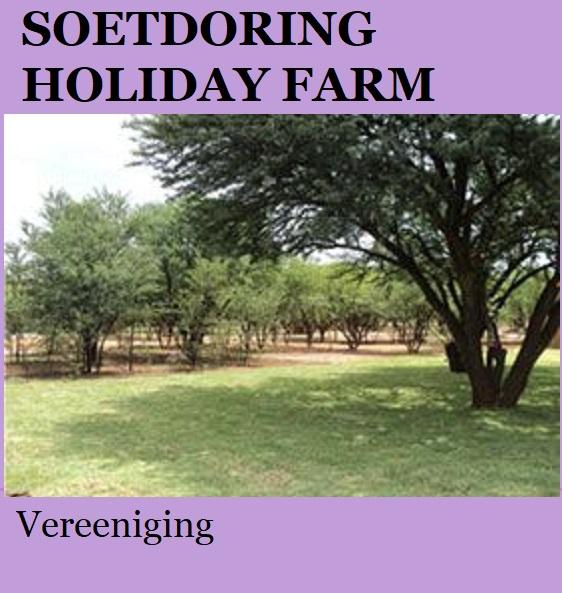 Soetdoring Holiday Farm - Vereeniging