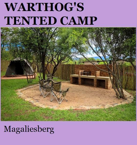 Warthogs Tented Camp - Magaliesberg