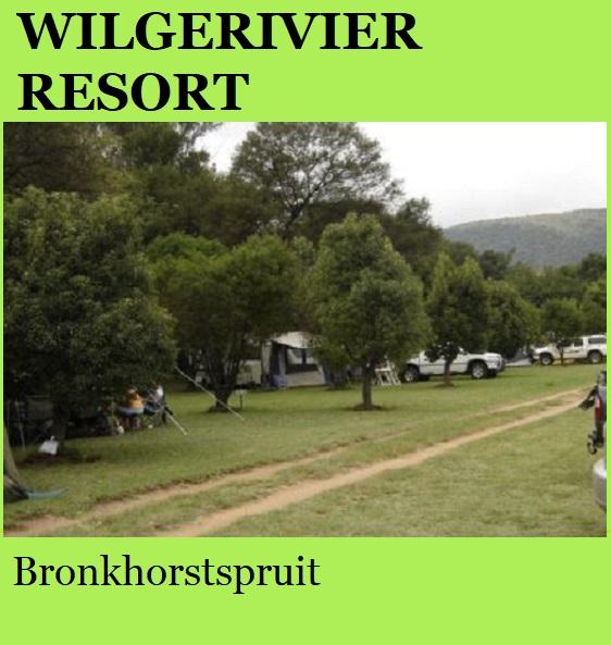 Wilgerivier Resort - Bronkhorstspruit