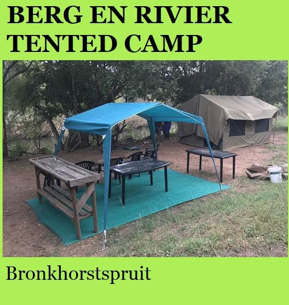 Berg en Rivier Tented Camp - Bronkhorstspruit