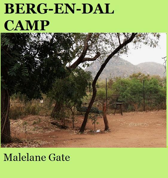 Berg-en-Dal Rest Camp - Kruger National Park